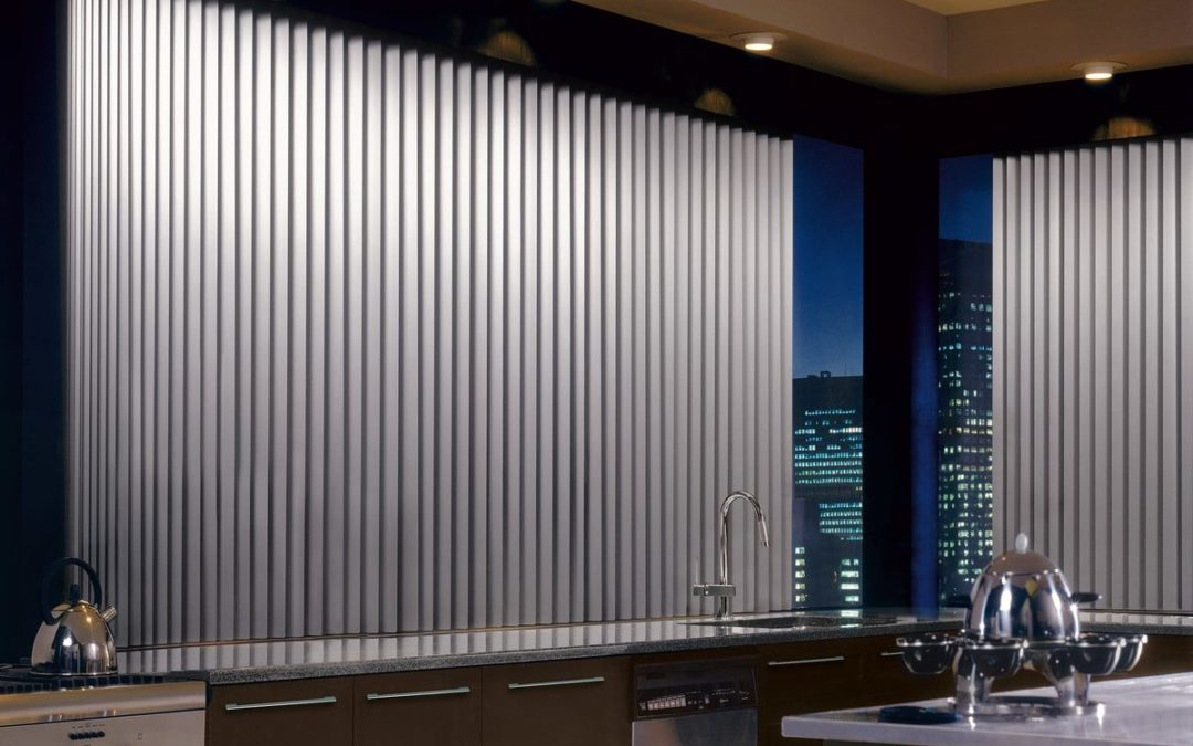 SOMNER® Custom Vertical Blinds Hunter Douglas