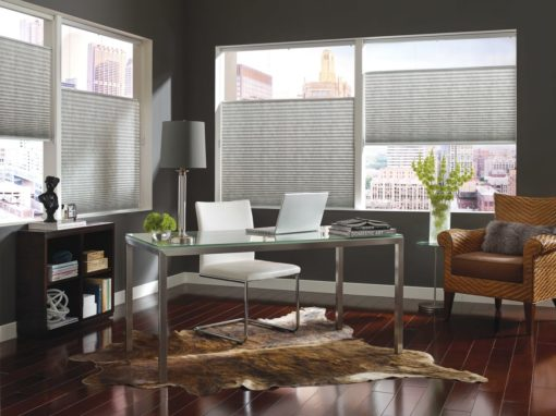 PLEATED Shades Hunter Douglas